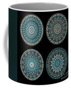 Kaleidoscope Steampunk Series Montage Coffee Mug by Amy Cicconi