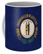 Kentucky State Flag Coffee Mug by Pixel Chimp