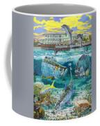 Key Largo Grand Slam Coffee Mug by Carey Chen