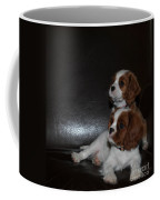 King Charles Puppies Coffee Mug by Dale Powell