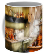 Kitchen - Momma's Kitchen  Coffee Mug by Mike Savad