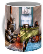 Kitchen - Old Fashioned Kitchen Coffee Mug by Mike Savad