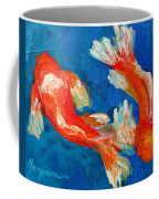 Koi Fish Coffee Mug by Patricia Awapara