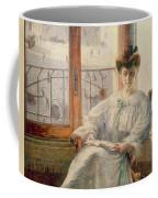La Signora Massimino Coffee Mug by Umberto Boccioni