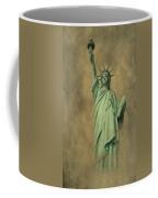 Lady Liberty New York Harbor Coffee Mug by David Dehner
