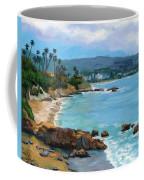 Laguna Beach Winter Coffee Mug by Alice Leggett