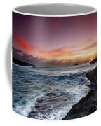 Laie Point Sunrise Coffee Mug by Sean Davey