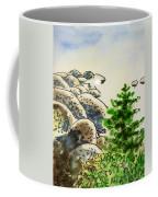 Lake Tahoe - California Sketchbook Project Coffee Mug by Irina Sztukowski