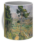 Landscape With Viaduct Coffee Mug by Paul Cezanne