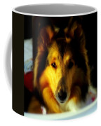 Lassie Come Home Coffee Mug by Karen Wiles