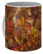 Last Fall In Monroe Coffee Mug by Thu Nguyen
