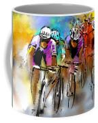 Le Tour De France 03 Coffee Mug by Miki De Goodaboom