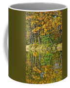 Leaning Trees Coffee Mug by Frozen in Time Fine Art Photography