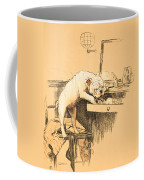 Left Alone In Her Dressing Room Coffee Mug by Cecil Charles Windsor Aldin