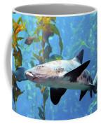 Leopard Shark Coffee Mug by Barbara Snyder