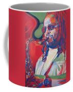 Leroi Moore Colorful Full Band Series Coffee Mug by Joshua Morton