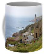 Levant Mine And Beam Engine Coffee Mug by Terri Waters