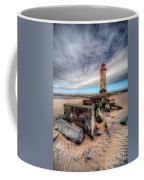 Lighthouse At Talacre  Coffee Mug by Adrian Evans