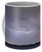 Lightning Bolting Across The Sky Coffee Mug by James BO  Insogna