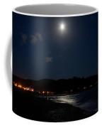 Lincoln City Moonlight Coffee Mug by John Daly