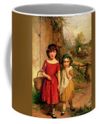 Little Villagers Coffee Mug by George Smith