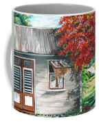 Little West Indian House 1 Coffee Mug by Karin  Dawn Kelshall- Best