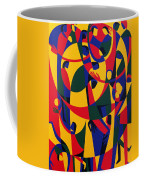 Live Adventurously Coffee Mug by Ron Waddams