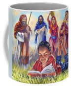 Living Bible Coffee Mug by Tamer and Cindy Elsharouni