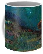 Living On The Edge Coffee Mug by Frances Marino