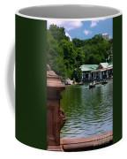 Loeb Boathouse Central Park Coffee Mug by Amy Cicconi