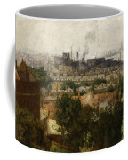 London And The Thames From Greenwich Coffee Mug by John Auld