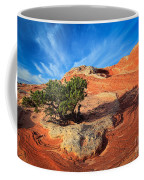 Lone Juniper Coffee Mug by Inge Johnsson