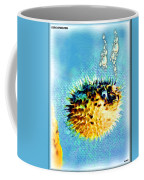 Long-spine Fish Coffee Mug by Daniel Janda