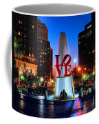 Love At Night Coffee Mug by Nick Zelinsky