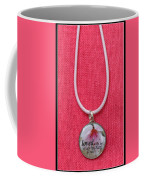 Loved With An Everlasting Love Pendant Coffee Mug by Carla Parris