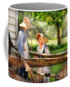 Lover - The Courtship Coffee Mug by Mike Savad
