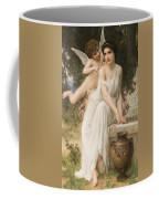 Loves Whisper Coffee Mug by Charles Lenoir