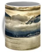 Low Clouds - Half Speed Coffee Mug by Jon Berghoff