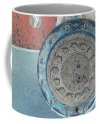 Lug Nut Wheel Right  Coffee Mug by Heather Kirk
