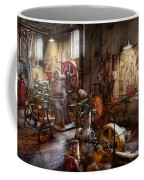 Machinist - A Room Full Of Memories  Coffee Mug by Mike Savad