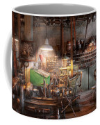 Machinist - It All Starts With A Journeyman  Coffee Mug by Mike Savad