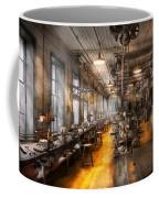 Machinist - Santa's Old Workshop Coffee Mug by Mike Savad