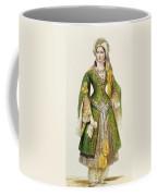 Mademoiselle Rachel As Roxanne In Bajazet Coffee Mug by Achille Deveria