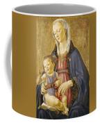 Madonna And Child Coffee Mug by Domenico Bigordi Domenico Ghirlandaio