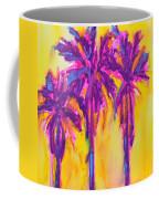 Magenta Palm Trees Coffee Mug by Patricia Awapara