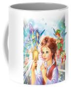 Magic Mirror Coffee Mug by Zorina Baldescu