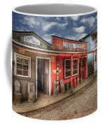Main Street Coffee Mug by Debra and Dave Vanderlaan