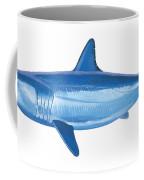 Mako Shark Coffee Mug by Carey Chen