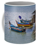 Malaysian Fishing Jetty Coffee Mug by Louise Heusinkveld
