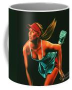 Maria Sharapova  Coffee Mug by Paul Meijering